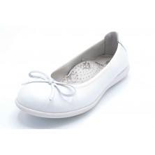 Pablosky 371901 Blanco | Bailarina de piel