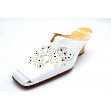 Dorking by Fluchos 3200 Blanco | Zapato con cuña