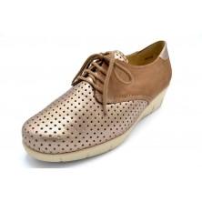 Drucker Calzapedic 24606 | Zapato de piel horma ancha | Plantilla extraíble