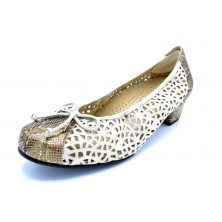 Drucker Calzapedic 24389B | Zapato de piel con plantilla extraíble