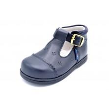 Nenuco 1037 marino | Zapato de piel para niño