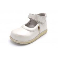 Nenuco 1068 Nácar | Zapato de piel para niña (T)