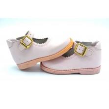 Nenuco 1082 Rosa | Zapato de piel para niña