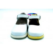 Nenuco 1102 Blanco | Zapato de piel para niña (T)