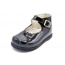 Nenuco 1124 Negro | Zapato de piel para niño