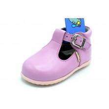 Nenuco 1248 Rosa | Zapato de piel para niña
