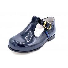 Nenuco 2018 Charol azul | Zapato de piel unisex