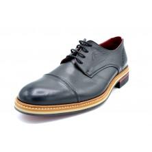 Fluchos Marlon F1128 Negro | Zapato de piel con cordones