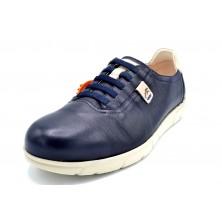 Fluchos Iron F0848 Atlantic | Zapato de piel cordones elásticos