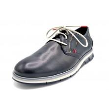 Fluchos Kemp F0776 Marino | Zapato de piel con cordones