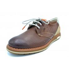 Fluchos Sheldon F1130 Camel | Zapato de piel con cordones | Suela Dinergy