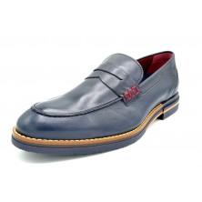 Fluchos Clooney F0531 Oceano | Zapato de piel con cordones para vestir