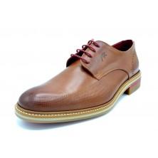 Fluchos Marlon F1125 Cuero | Zapato de piel con cordones para vestir