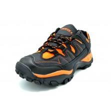 Paredes Nerja negro/naranja | Zapatilla deportiva de trekking